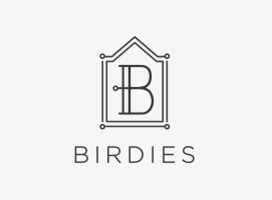 birdies client logo shoes