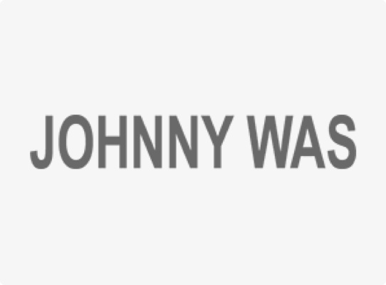 johnny was fashion apparel client logo